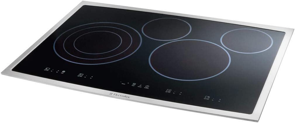 Electrolux 30 30 Inch Black Electric Smoothtop Cooktop with touch controls EI30EC45KB