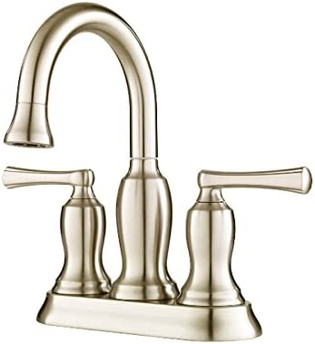 Pfister Lindosa 2-Handle 4 Centerset Bathroom Faucet, Brushed Nickel