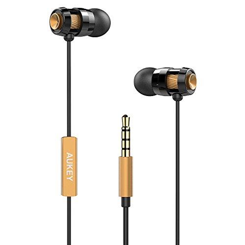 AUKEY Headphones Comfort Fit Microphone Smartphones
