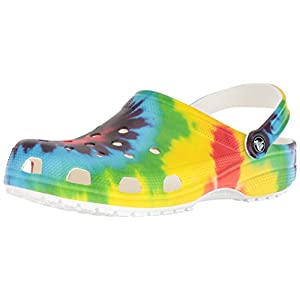 Crocs Men's and Women's Classic Tie Dye Graphic Clog