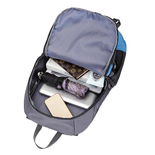 Mountaineering Bag Outdoor Männer und Frauen Schulter Rucksack wasserdicht Wanderpackage Bergsteigen Taschen , blau