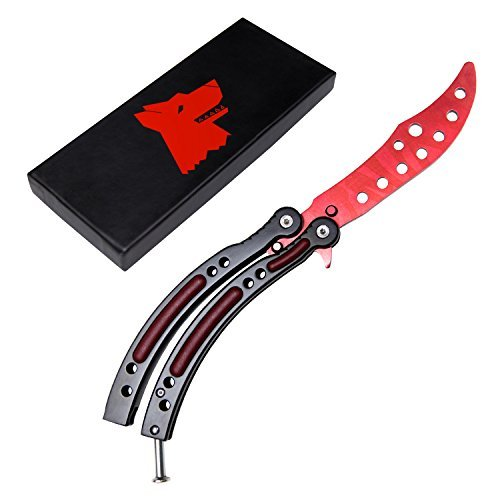 Galleon Wolf Sml Butterfly Knife Trainer Kit Including
