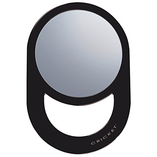 Cricket Oval Styling Mirror, Black - Quality Cricket