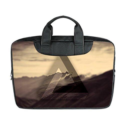 JIUDUIDODO Custom Delicate Triangle Nylon Waterproof Bag