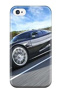 Premium Koenigsegg Ccxr Edition Car Studio 2 Back Cover Snap On Case For Iphone 4/4s