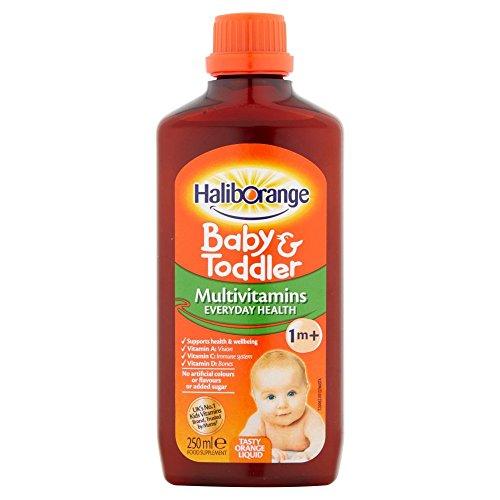 Haliborange All Natural Orange Flavour Multivitamni Liquid