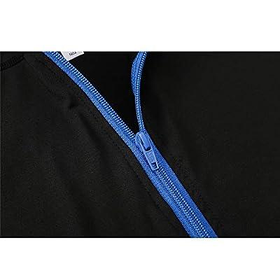LEIAZ Señoras para Mujer Womensnew Plus Size Zip Up Sudadera con Capucha Sudadera con Capucha Chaqueta De Abrigo Top: Deportes y aire libre