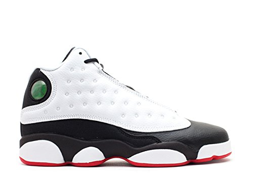 Nike Air Jordan 13 Retro Bg, Zapatillas de Deporte para Niños white, true red-black