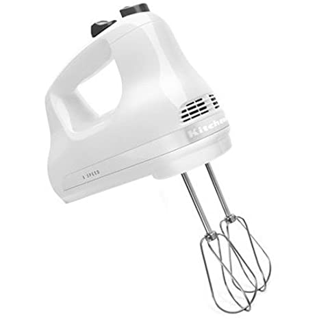 Amazon Com Kitchenaid Khm512wh 5 Speed Ultra Power Hand Mixer