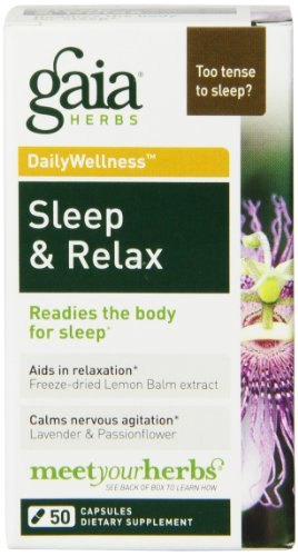 Gaia Herbs Sleep Relax Capsules product image