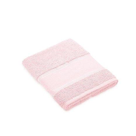 Toalla de lavabo rosa pastel para bordar a punto de cruz: Amazon.es: Hogar