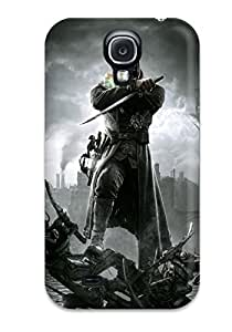 Anti-scratch And Shatterproof Dishonored Phone Case For Galaxy S4/ High Quality Tpu Case
