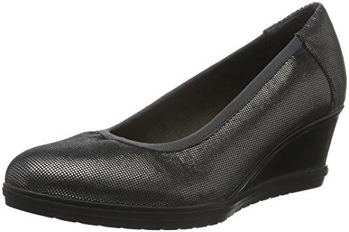 Tamaris 22401, Zapatos de Tacón para Mujer Plateado (PLATINUM 957)