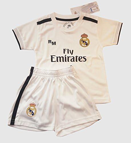 AB9182 Real Madrid 2018-19 Sox premi/ère r/éplique Officier Junior