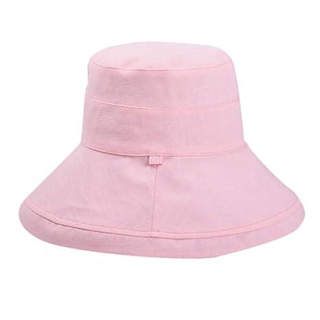 💖MINXINWY Sombrero de Pescador, Sombrero de Playa de Doble Lado ...