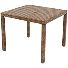 Panama Jack Outdoor St. Barths Square Dining Table, 36-Inch