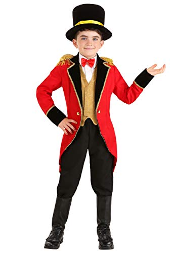 Big Boys' Ringmaster Costume - -