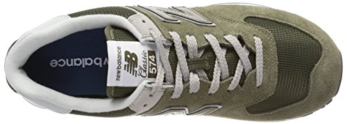 Baskets Vert Ml574v2 New Homme olive Balance E0qOWw4C