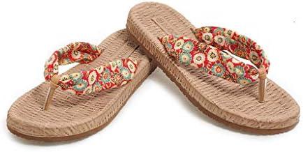 ALOVEMO Rhinestone SandalsWomens Flat SandalsFlip FlopJeweled Sandals