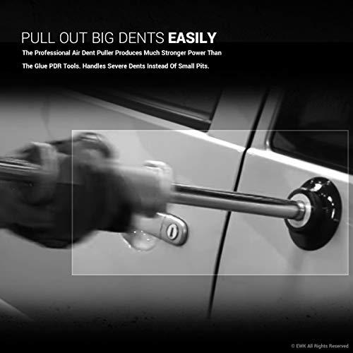 EWK Pneumatic Slide Hammer Dent Puller Air Suction Cup Paintless Dent Repair Remover by EWK (Image #3)