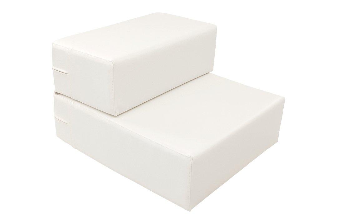 TEES FACTORY 国産 PVC レザー ドッグ ステップ CHITO-L ホワイト B01M0OSFYA L