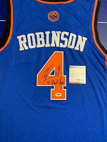Nate Robinson Autographed Signed Jersey (Size XL) PSA/DNA COA Inscribed 3X Dunk Champ New York Knicks (Nate Robinson Best Dunks)