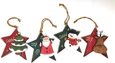 Green Rustic Reindeer Centerpiece Hanna/'s Handiworks Christmas Decoration