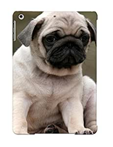 BWbHeT-3895-SpBrJ Hot Fashion Design Case Cover For Ipad Air Protective Case (Animal Pug)