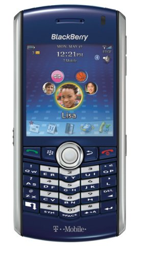 BlackBerry Pearl 8100 Phone, Sapphire Blue (T-Mobile, Phone Only, No Service)