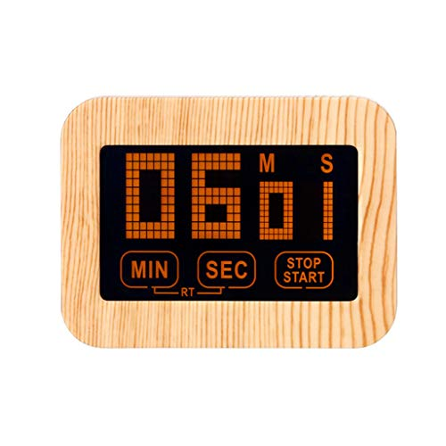 ❤️Ywoow❤️ Digital Timer, Luminous Screen LED Large Display Digital Timer Magnet Learn Kitchen