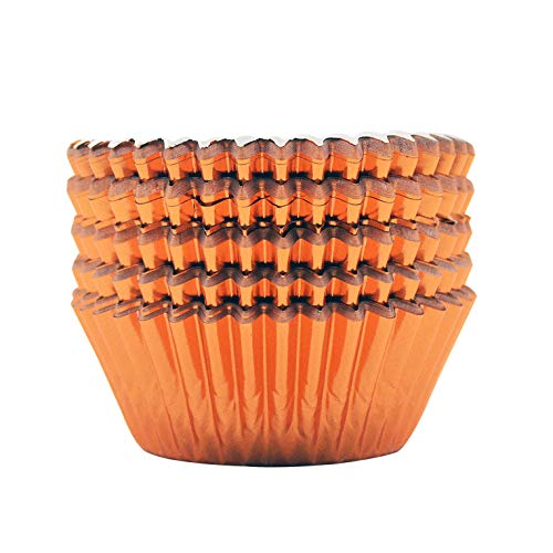 orange and white cupcake liners - 3