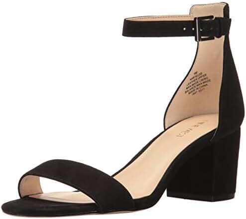 Nine West Women's Fields Suede Dress Sandal