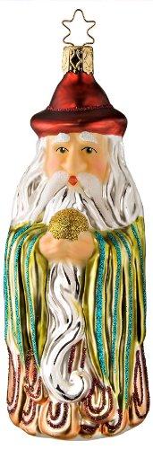 Inge Glas Magic Wizard of Mystical Visions 1-075-09 German Christmas Ornament ()