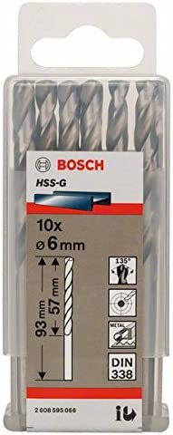 Spiralbohrer /Ø 2,8mm HSS-Co DIN 338 Typ N kurz Preis per 10 St/ück