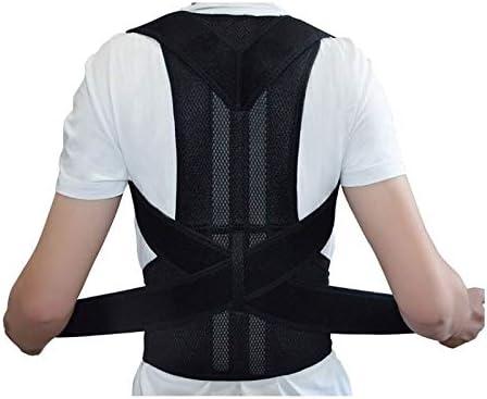 背中の矯正大人の脊椎矯正装置による背中の支え治療姿勢のサポートによる子供のアンチザンプバック矯正 (Color : Black, Size : S)