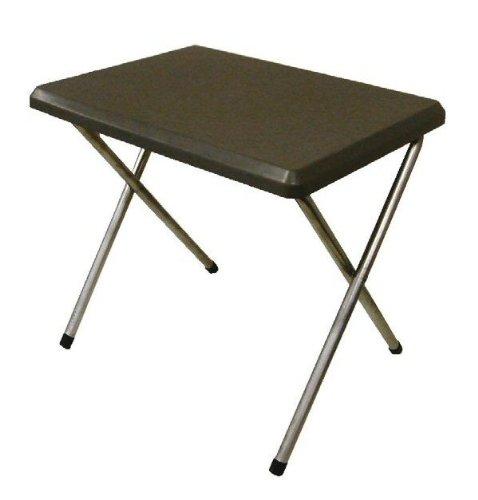 SunnCamp Petite table en plastique Gris B0029LHM8Q
