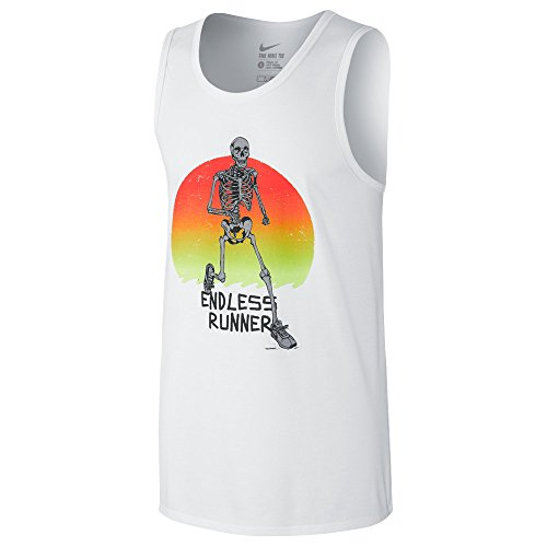 Nike Mens Jersey Graphic Tank Top White XL - Nike Jersey Tank Top