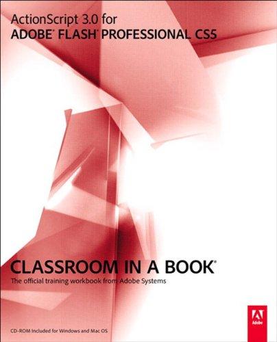 Flash cs6 book in a professional pdf classroom adobe