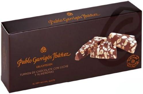 Pablo Garrigós Ibáñez Barra de Turrón de Chocolate con Leche y ...