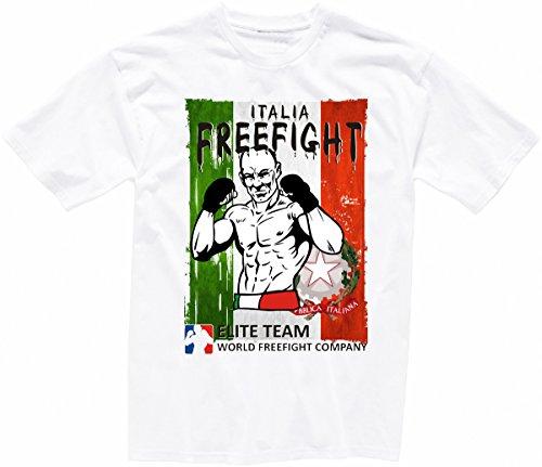 Italien FREEFIGHT - MMA - Muay Thai Boxen - T-Shirt - 003