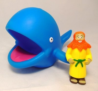 Jonah & Whale Action Figure from Beginners Bible ()