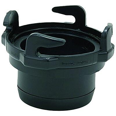 "Valterra T1024-2 Black 3"" Straight Hose Adapter: Automotive"