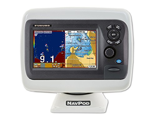 NavPod PP4818 PowerPod Pre-Cut for Furuno GP-1870 / GP-1870F GPS/Chart Plotter/Fish Finder