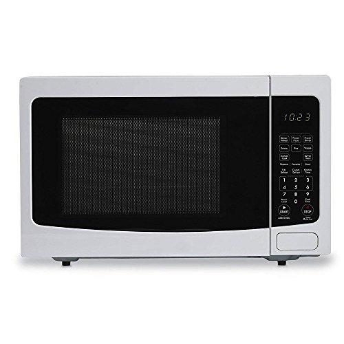 red 1100 watt microwave - 7