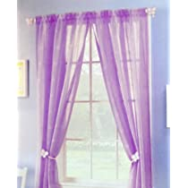 Pair of 2 Purple Violet Panels