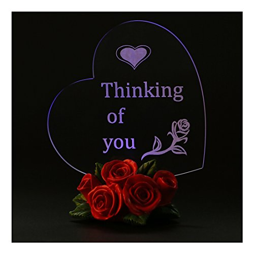 Giftgarden LED Heart Decor Friendship Gifts, Mom Gifts, Grandma Gifts, Gift for Wife, Gift for Him, Gifts for Friends, Thinking of You Gifts