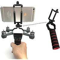 gouduoduo2018 DJI SPARK Portable Handle PTZ Gimbal Stabilizer Carrier Bracket Kit 3D Printed