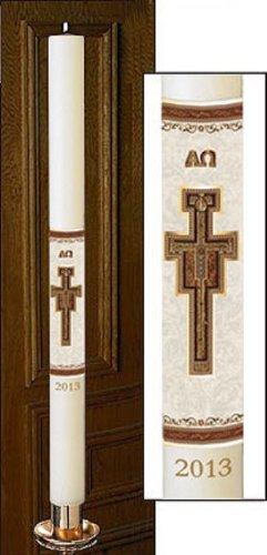No 9 San Damiano Paschal Candle