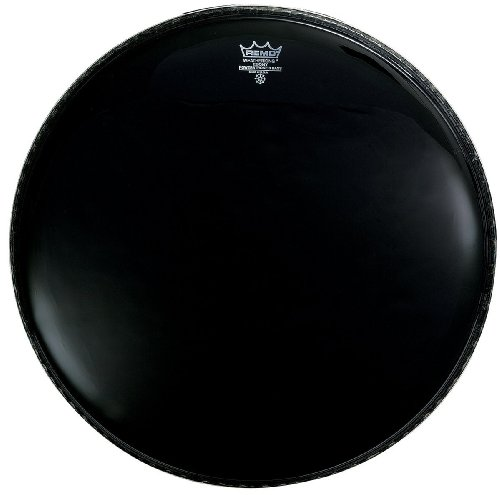 Remo P31022-ES 22-inch Bass Drum Heads - Remo Powerstroke 3 Black Resonant