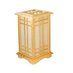 SGDHGH Lámpara de Mesa Japonesa del Tatami, lámpara de pie de ...